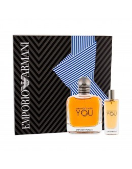Armani Stronger With You EDT 50 ml + EDT 15 ml за мъже