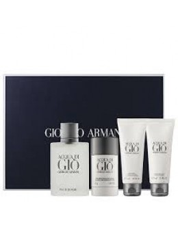 Armani Acqua di Gio ЕDT 100 ml + SG 75 ml + ASB 75 ml + Deostick 75 ml за мъже
