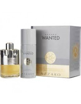 AZZARO WONTED EDT 100ml + DEO 150ml за мъже