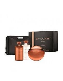 Bvlgari Aqva Amara EDT 100ml + 75ml ASHB + 75ml SG + Bag за мъже