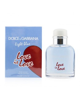 DOLCE & GABBANA Light Blue Love Is Love EDT 75 ml за мъже