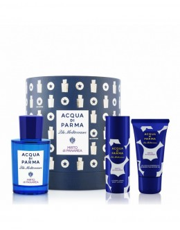 Acqua Di Parma Blu Mediterraneo Mirto Di Panarea EDT 75 ml +Душ гел  40 ml + Лосион за тяло 50 ml унисекс