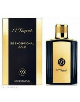 Dupont Be Exceptional Gold EDP 100 ml за мъже Б.О.
