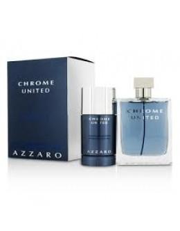 Azzaro Chrome United EDT 50ml + 75ml Stick за мъже