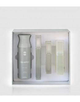 Ajmal Shiro EDP 90ml + 200 ml Deo Spray + 225 ml Shower gel + 50 ml Cologne за мъже