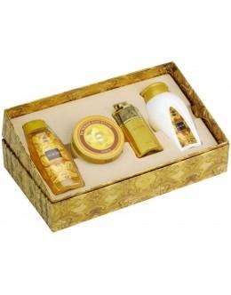 Ajmal Aurum EDP 75ml  + Perfumed Body Powder 100 g + Body Butter 200 g + Shower gel 200 ml за жени