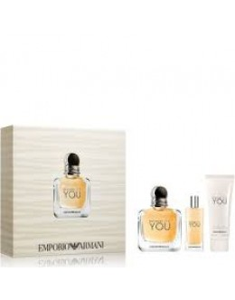 Armani Because It's You  EDP 100 ml + BL 75 ml + 15 ml за жени