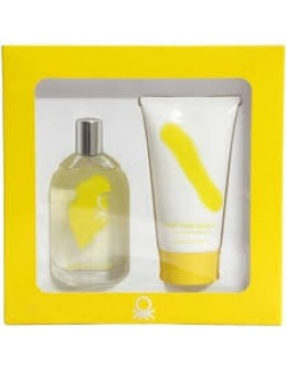 Benetton Giallo EDT 100ml + SG 100 ml за жени
