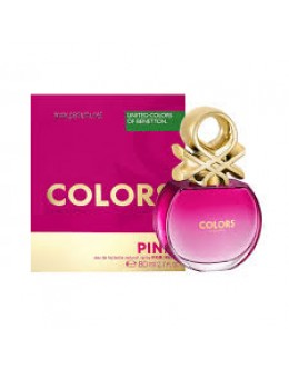 Benetton Colors de Benetton Pink EDT 80ml