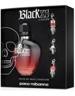 PR Black XS L'Exces EDP 80 ml + ключодържател за жени